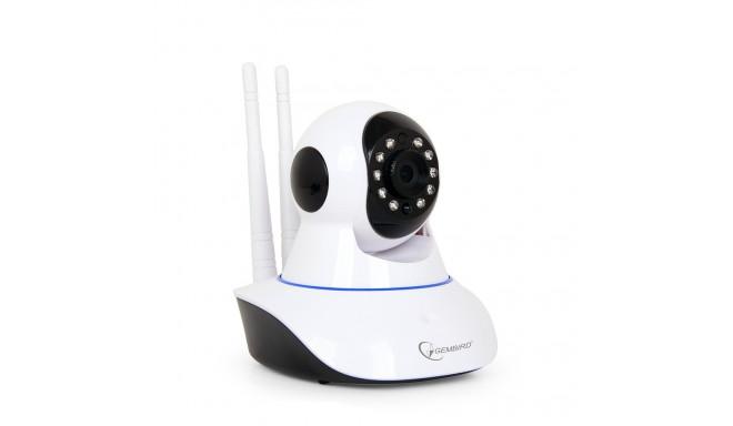 Gembird IP kaamera Rotating HD WiFi, valge (ICAMWRHD01)