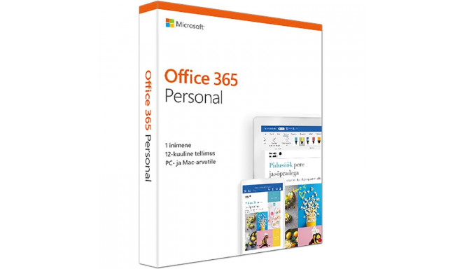 Microsoft Office 365 Personal 1 aasta (EST)