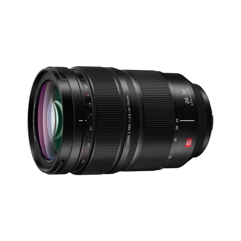 Panasonic Lumix S PRO 24-70mm f/2.8 objektiiv