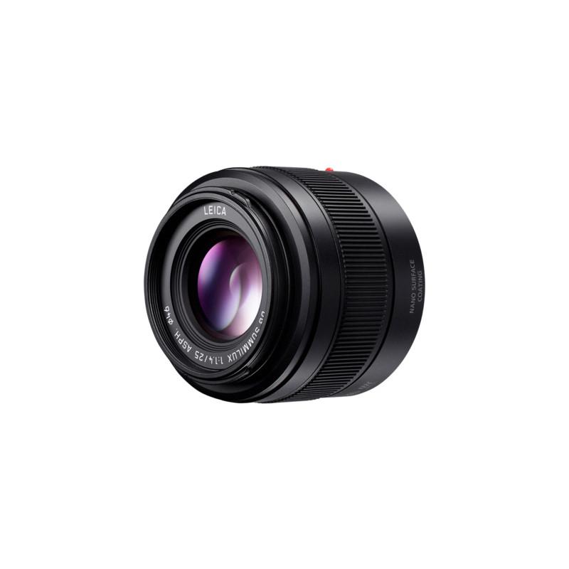 Panasonic Leica DG Summilux 25mm f/1.4 II ASPH. objektiiv, must