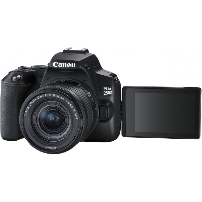 Canon EOS 250D Youtuber Kit, black