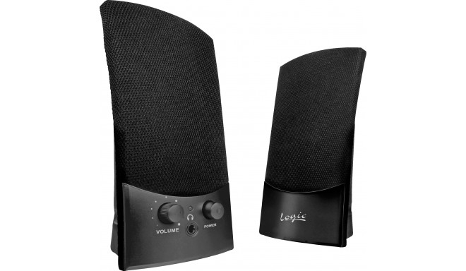 Logic speakers LS-10, black