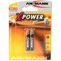 Ansmann patarei X-Power LR8 AAAA 2tk