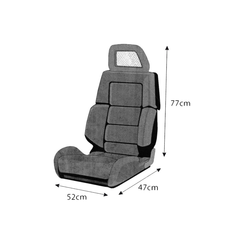 WenTextil universal seat cover A1
