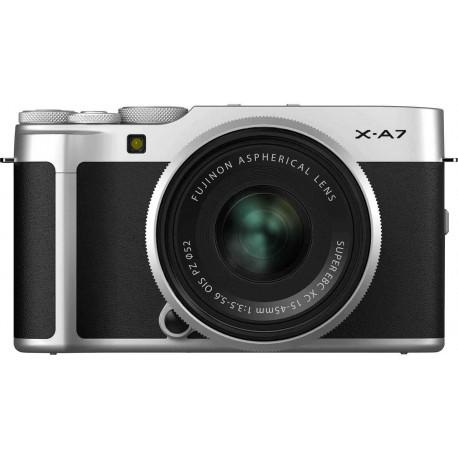 Fujifilm X-A7 + 15-45 мм Kit, серебристый