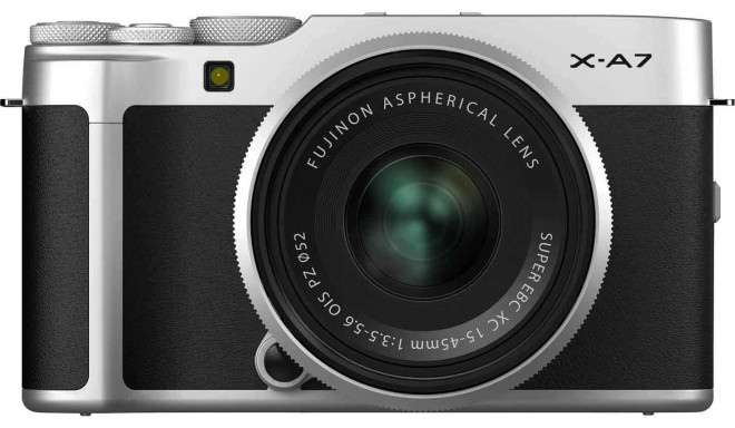 Fujifilm X-A7 + 15-45mm Kit, sudrabots