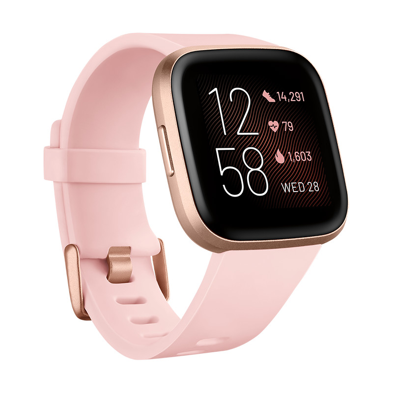 Fitbit Versa 2, petal/copper rose