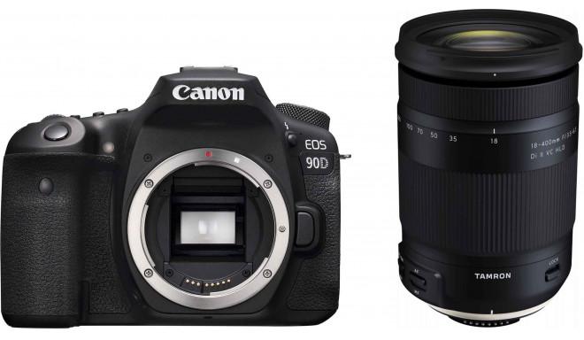 Canon EOS 90D + Tamron 18-400 мм