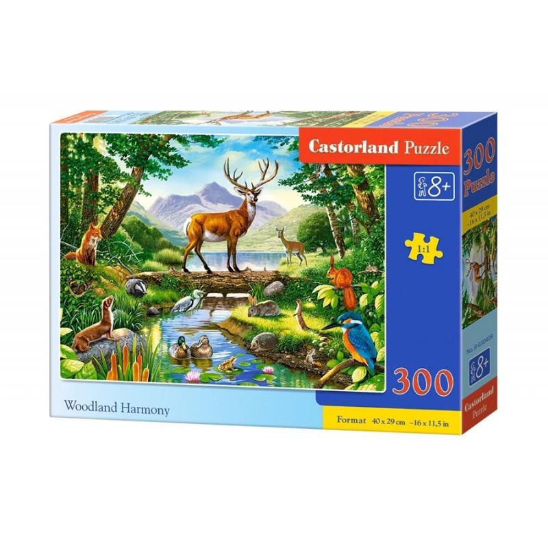 Puzzle 300 elements Woodland Harmony