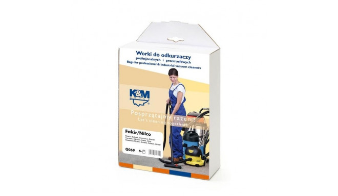 K&M vacuum cleaner bag Kärcher 5pcs