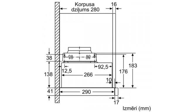 Bosch õhupuhasti DFM064W51