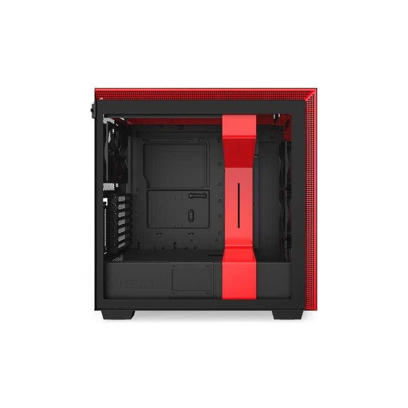 Housing NZXT H710I CA-H710I-BR (ATX, E-ATX, Micro ATX, Mini ITX; black color)