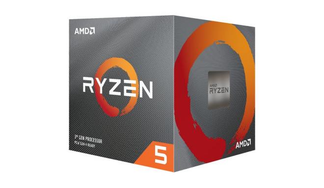 AMD protsessor Desktop Ryzen 5 6C/12T 3600X 4.4GHz 36MB 95W AM4 Box with Wraith Spire Cooler
