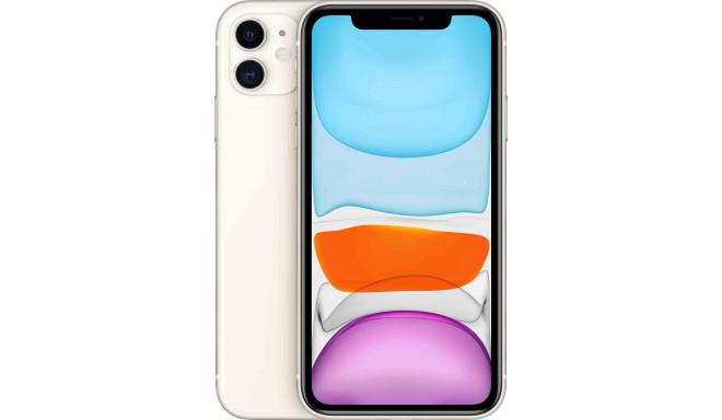 Apple iPhone 11 64GB, balts