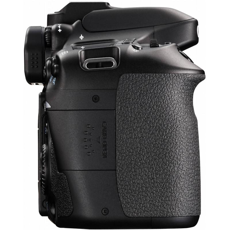 Canon EOS 80D + Tamron 18-200mm VC
