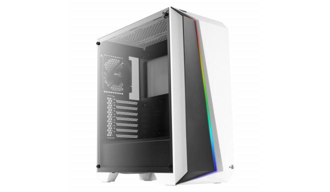 ATX Pus-torņveida Kārba Aerocool CYLONPROWG RGB USB 3.0 Balts