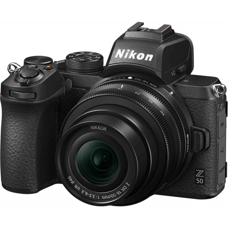 Nikon Z50 + Nikkor Z DX 16-50mm VR Kit