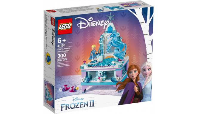 Bricks Disney Princess Elsas jewelry box