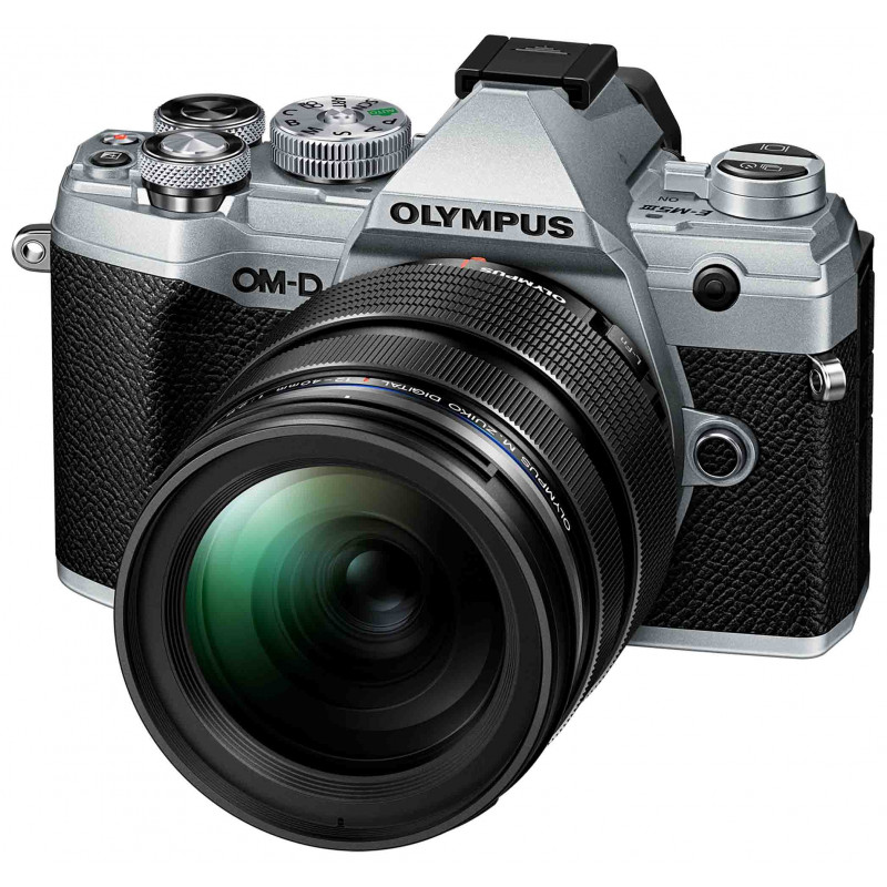 Olympus OM-D E-M5 Mark III + 12-40mm Pro Kit, hõbedane/must