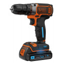 Black&Decker BDCDC18KST SmartTech cordless screw driller + case + rechargeable battery 1.5Ah