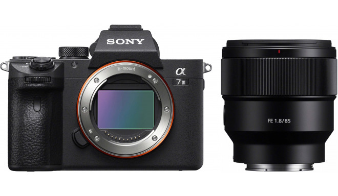Sony a7 III + FE 85 мм f/1.8