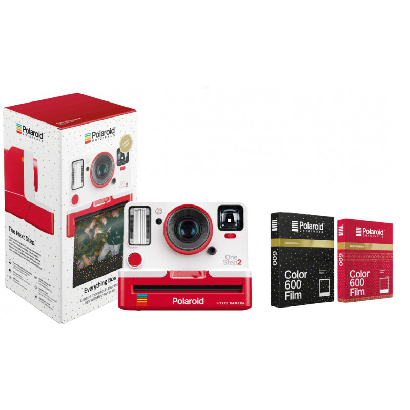Polaroid OneStep 2 VF Everything Box, punane