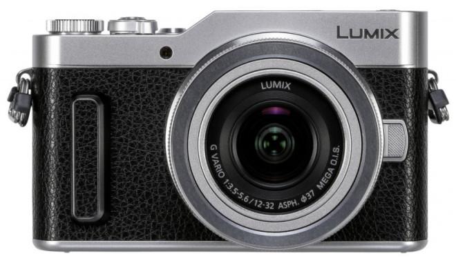 Panasonic Lumix DC-GX880 + 12-32mm Kit, must/hõbedane