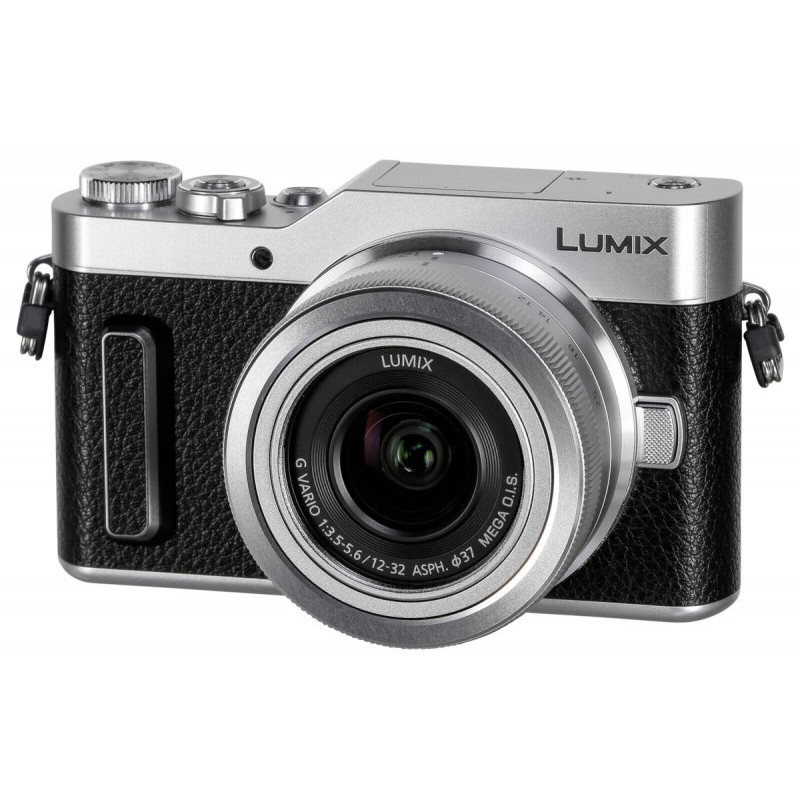 Panasonic Lumix DC-GX880 + 12-32mm Kit, must/hõbedane