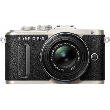 Olympus PEN Lite E-PL8 + 14-42mm II R Kit, black