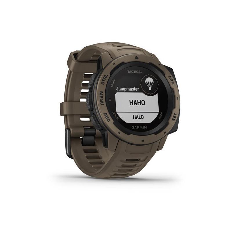 Garmin Instinct Tactical GPS, coyote tan
