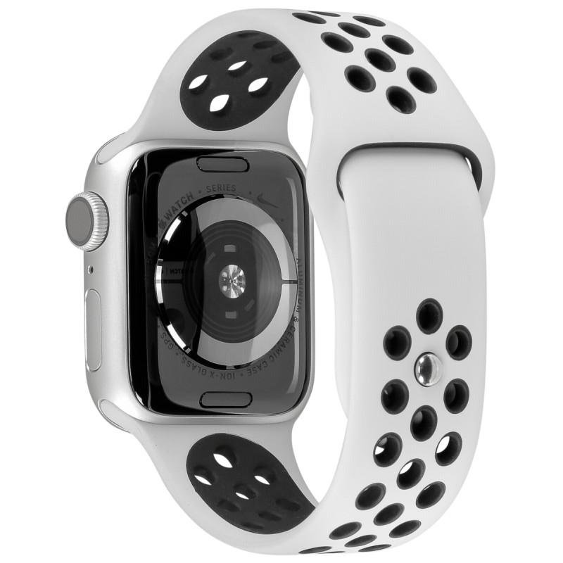 principal especificar Administración  Apple Watch Nike Series 5 GPS 44mm Alu Case Silver/Black Band - Nutikellad  - Photopoint