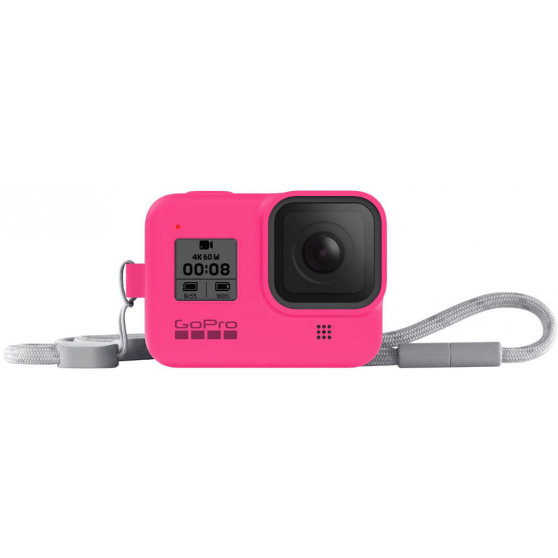 GoPro kaitseümbris + randmepael Hero8 Black, roosa