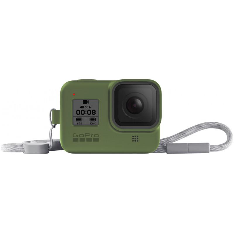 GoPro kaitseümbris + randmepael Hero8 Black, roheline