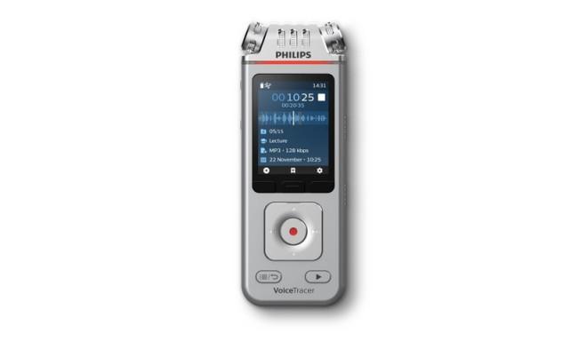 AUDIO RECORDER PHILIPS DVT4110 8GB USB (SILVER)