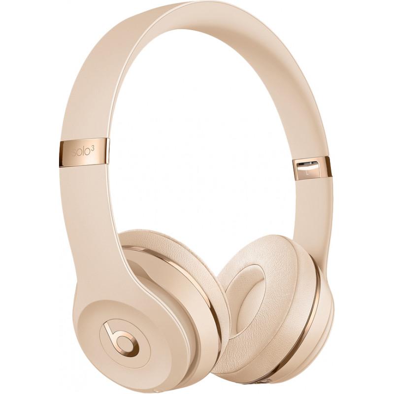 Beats juhtmevabad kõrvaklapid + mikrofon Solo3, satin gold