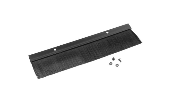 "19"" CABLE ENTRY BRUSH PANEL BLACK LANBERG"