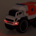 Ambulance with Light and Sound White 113623
