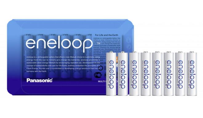 Panasonic eneloop аккумулятор AAA 750 8SP