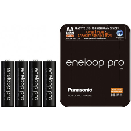 Panasonic eneloop rechargeable battery Pro AA 2500 4SP