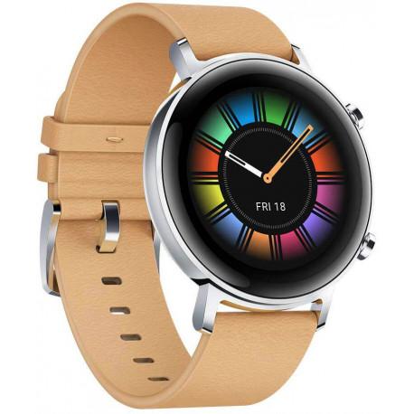 Huawei Watch GT 2 42 мм, кожа цвета хаки