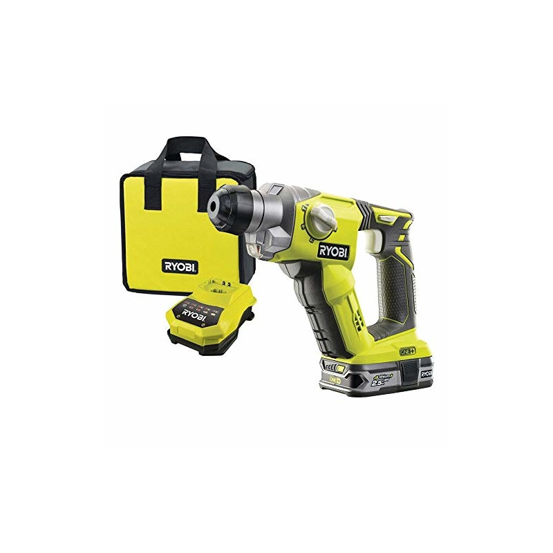Ryobi cordless sds hammer drill door handle types