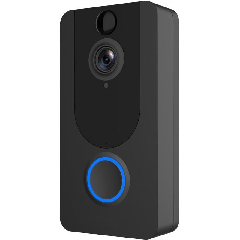 Platinet smart doorbell  PVD7, black (45089)