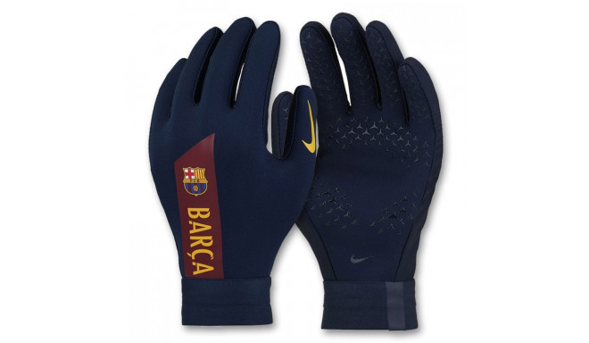 Adult training gloves Nike Y FC Barcelona Academy Hyperwarm GS0391 451