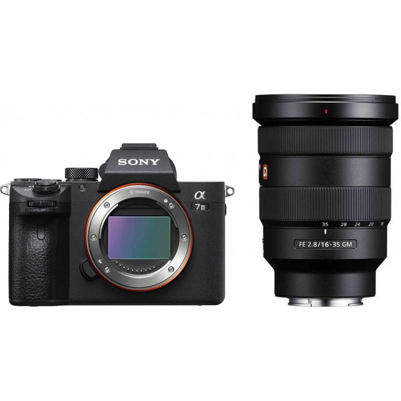 Sony a7 III + FE 16-35mm f/4.0
