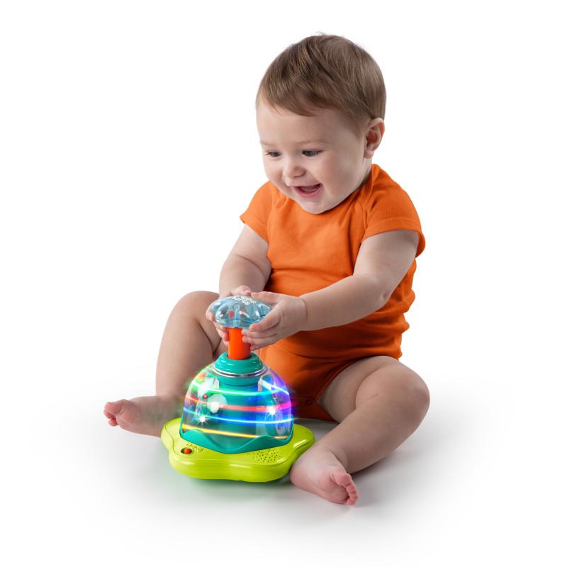 BRIGHT STARTS mänguasi spinner Press&Glow, 10042