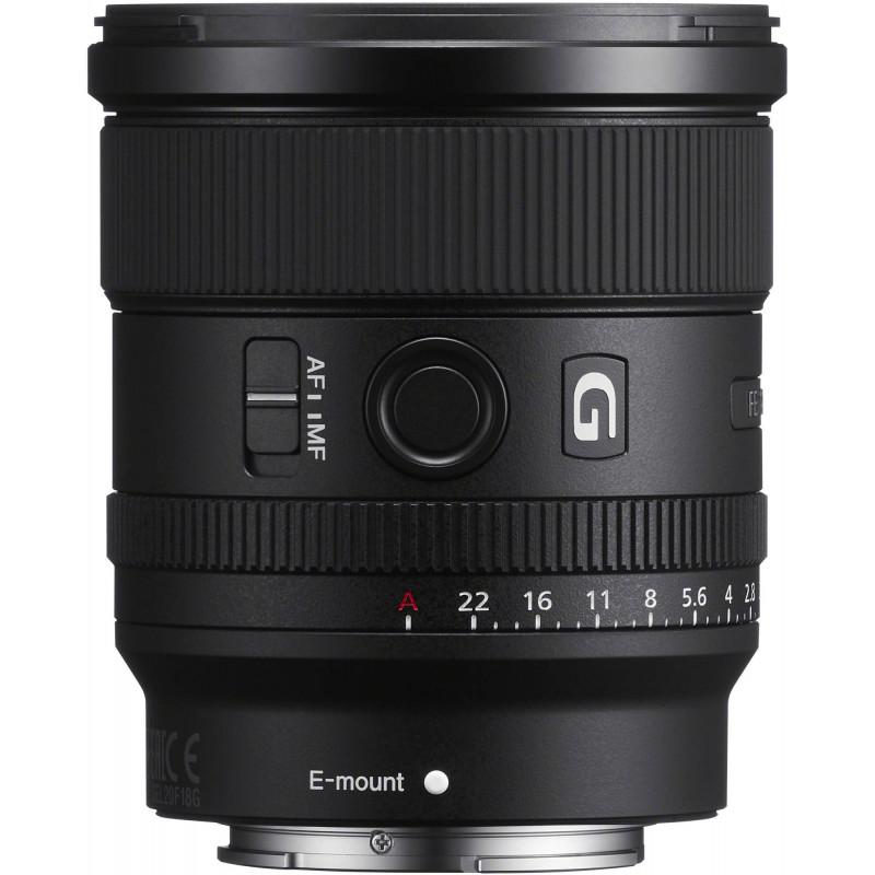 Sony FE 20mm f/1.8 G objektiiv