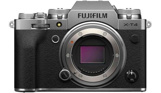 Fujifilm X-T4 kere, hõbedane