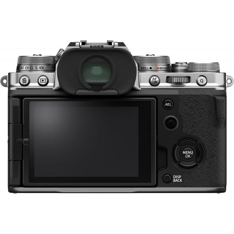 Fujifilm X-T4 + 18-55mm, hõbedane