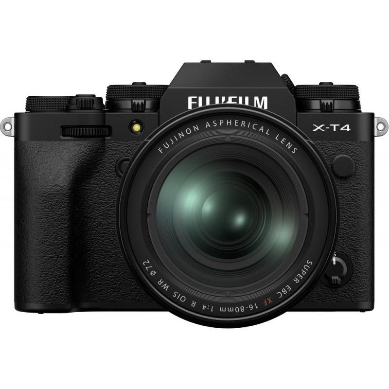 Fujifilm X-T4 + 16-80mm, must
