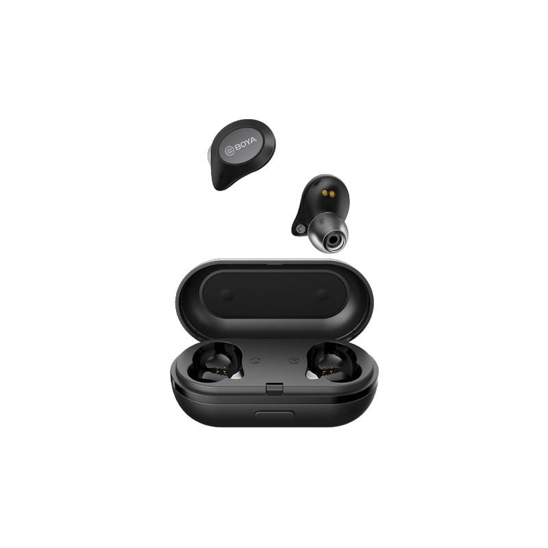 Boya juhtmevabad kõrvaklapid + mikrofon True Wireless, must